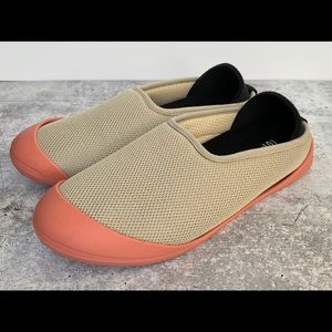 Mahabis Summer Slippers Beige Tan Coral Soles 7